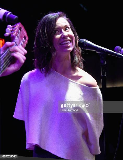 Special guest Joy Williams performs onstage with The Shadowboxers for Spotify Open House Nashville at Analog at the Hutton Hotel on December 6 2017...