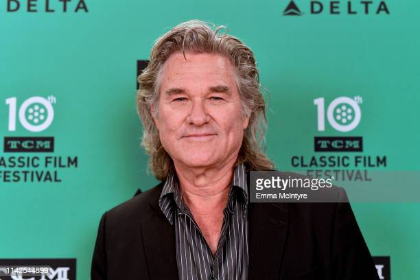 Special Guest Kurt Russell attends the screening of 'Escape from New York' at the 2019 TCM 10th Annual Classic Film Festival on April 13, 2019 in...
