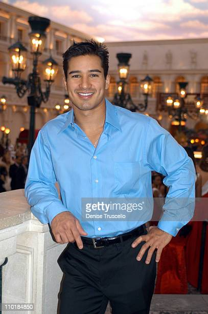 Special Guest Mario Lopez during CarnaVe 2003 a Celebration of Latin Music and Culture Featuring The Mesoamerica International Beauty Contest at The...