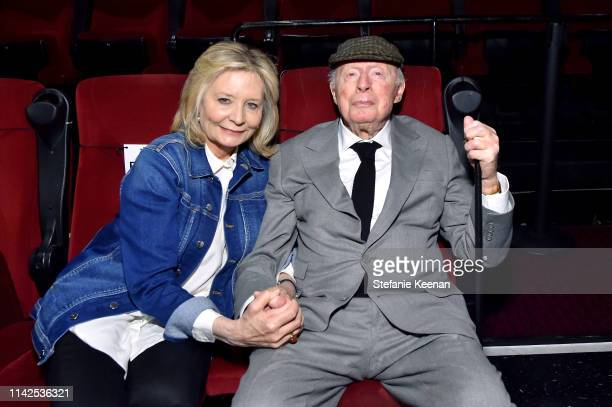 Special Guest Norman Lloyd attends the screening of 'Blood Money' at the 2019 TCM 10th Annual Classic Film Festival on April 13 2019 in Hollywood...