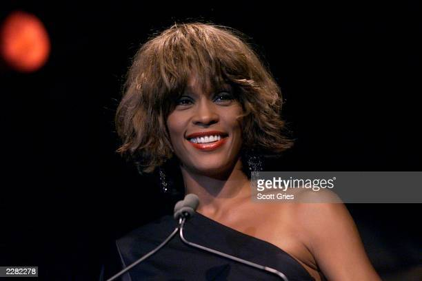 Special guest Whitney Houston at the Songwriters Hall of Fame 32nd Annual Awards at The Sheraton New York Hotel and Towers in New York City on June...