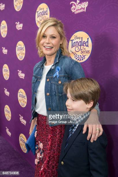 """Special guests and their families joined the cast and creative team for a screening of the Disney Channel Original Movie """"Tangled Before Ever After""""..."""
