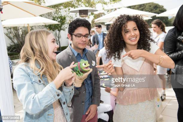 AFTER Special guests and their families joined the cast and creative team for a screening of the Disney Channel Original Movie Tangled Before Ever...