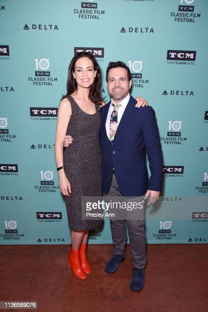 Special Guests Jennifer Grant and Mario Cantone attend the screening of 'My Favorite Wife' at the 2019 TCM 10th Annual Classic Film Festival on April...