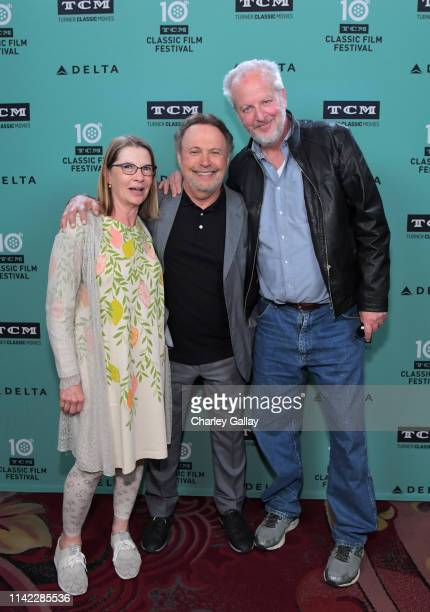 Special Guests Laure Mattos, Billy Crystal, and Daniel Stern attend the Hand and Footprint Ceremony: Billy Crystal at the 2019 10th Annual TCM...
