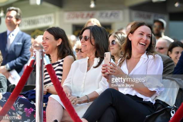 Special Guests Lindsay Crystal Janice Crystal and Jennifer Crystal Foley attend the Hand and Footprint Ceremony Billy Crystal at the 2019 10th Annual...