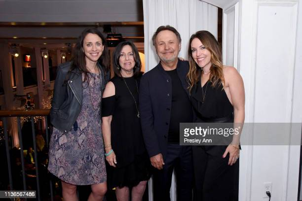 Special Guests Lindsay Crystal Janice Crystal Billy Crystal and Jennifer Crystal Foley attend the Opening Night Gala at the 2019 10th Annual TCM...