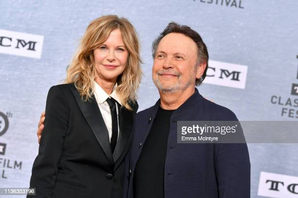 """Special Guests Meg Ryan and Billy Crystal attend The 30th Anniversary Screening of """"When Harry Met Sally…"""" Opening Night at the 2019 10th Annual TCM..."""