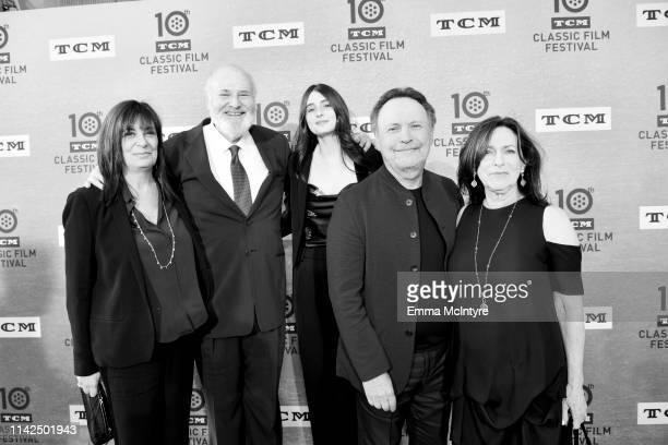 """Special Guests Michele Singer Reiner, Rob Reiner, Rony Reiner, Billy Crystal, and Janice Crystal attend The 30th Anniversary Screening of """"When Harry..."""