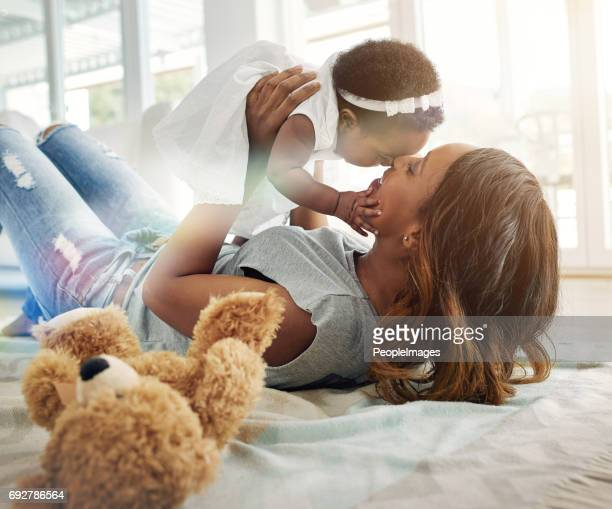 Special moments with mom