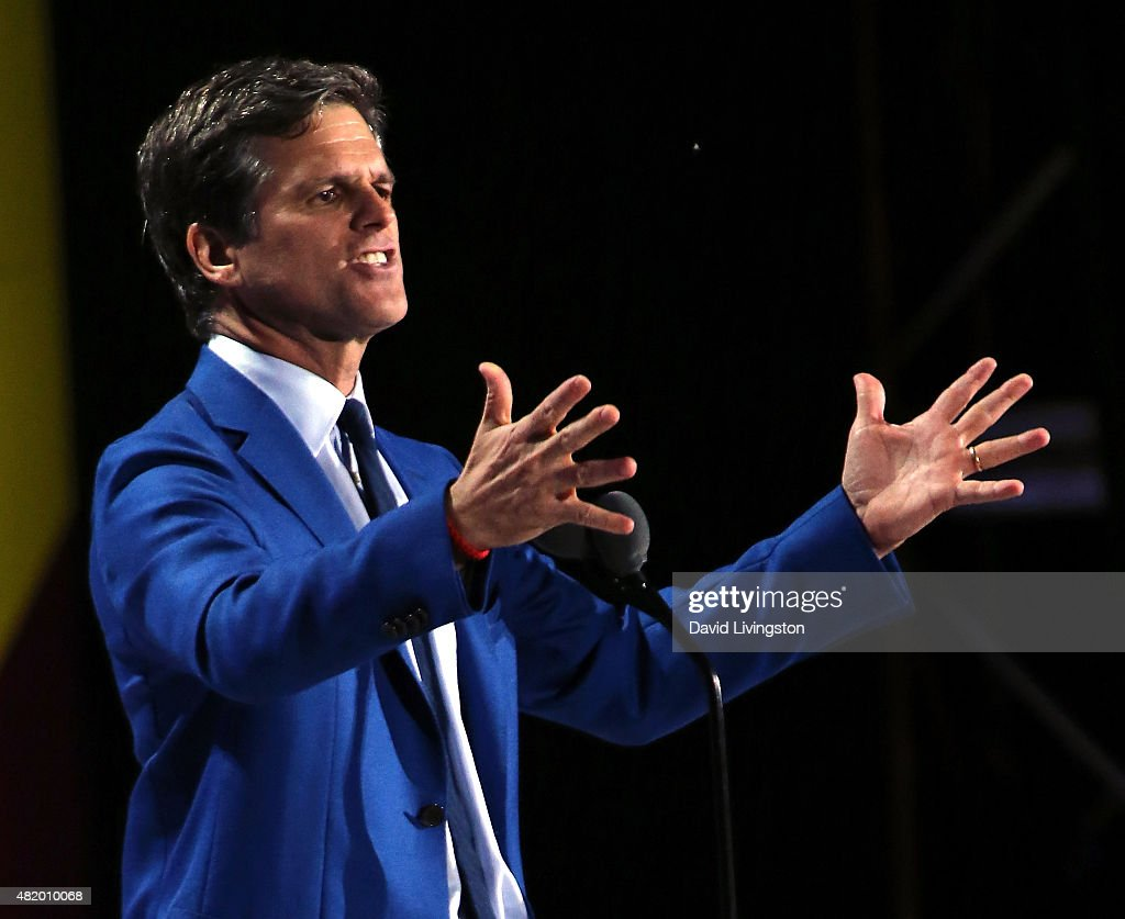 Special Olympics Chairman Timothy Shriver attends the opening ceremony of the Special Olympics World Games Los Angeles 2015 at the Los Angeles Memorial Coliseum on July 25, 2015 in Los Angeles, California.