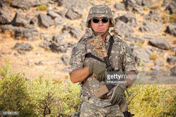 special ops military soldier in a relaxed position - afghanistan war stock photos and pictures