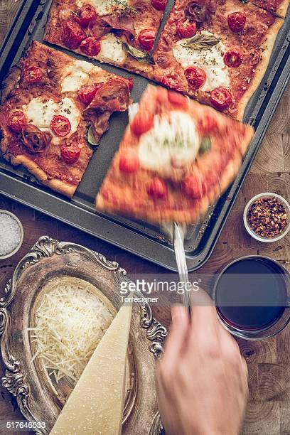 Special Pizza with Serrano Ham