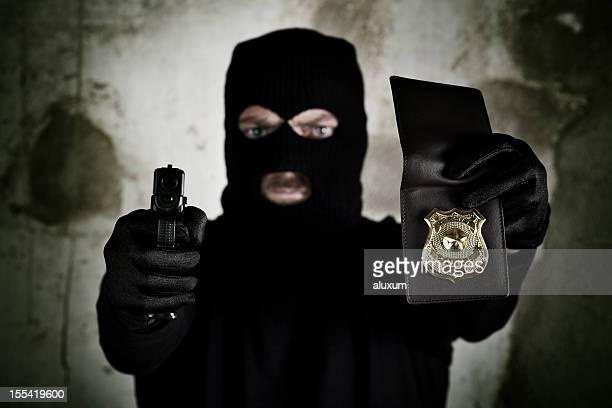 agentes de polícia especiais - distintivo de polícia - fotografias e filmes do acervo