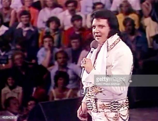 CBS special presentation ELVIS IN CONCERT originally broadcast on October 3 1977 featuring Elvis Presley Portions of concert footage recorded on June...