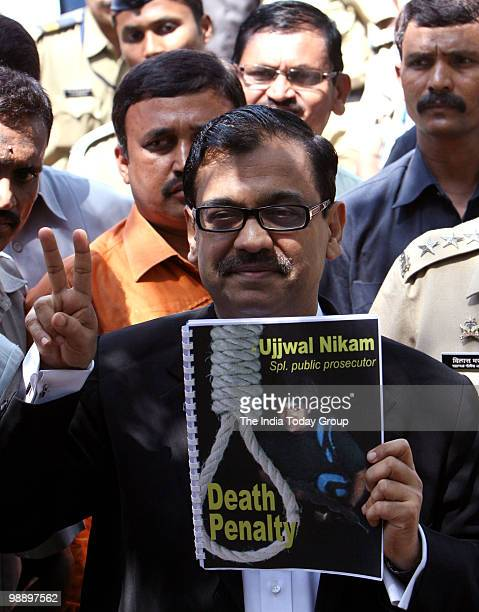 Special Public Prosecutor in the Mumbai attack case Ujjwal Nikam on Thursday expressed happiness over awarding of death sentence to Pakistani...