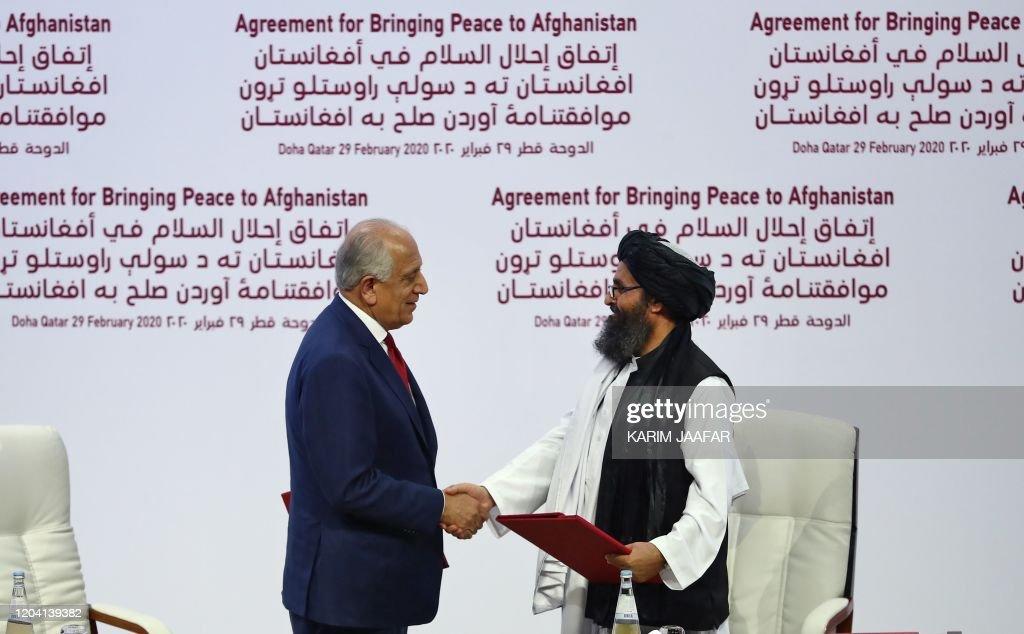 QATAR-US-AFGHANISTAN-DIPLOMACY-CONFLICT-TALIBAN : News Photo