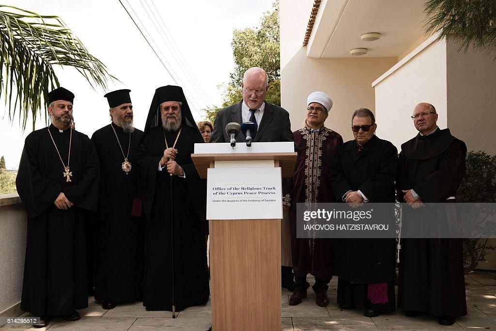 CYPRUS-RELIGION-PEACE-TALKS : Nachrichtenfoto