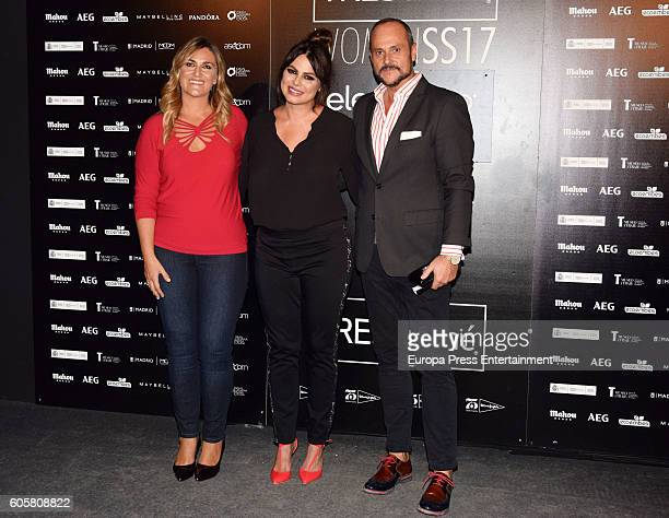 Special sizes model Marisa Jara Nacho Montes and Carlota Corredera attend the Elena Miro fashion show for curvies during the MFSHOW Women on...