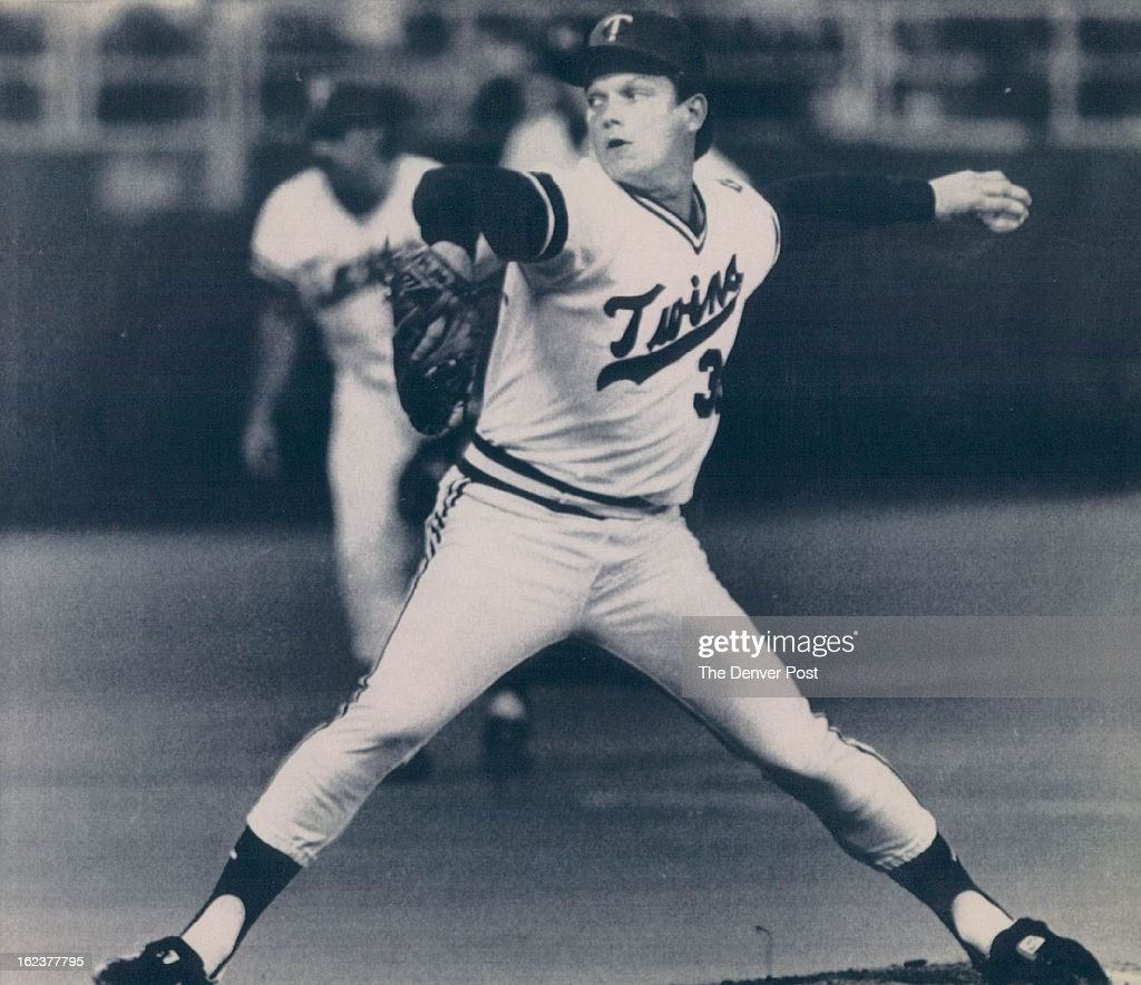 5-1986; Special to Denver post, ATTN: Ted Roders -- This is an Aug., 1985 file photo of pitcher Stev : News Photo