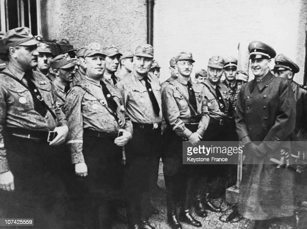 Special Unites Of Adolf Hitler In Landsberg Am Lech On September 20Th 1937