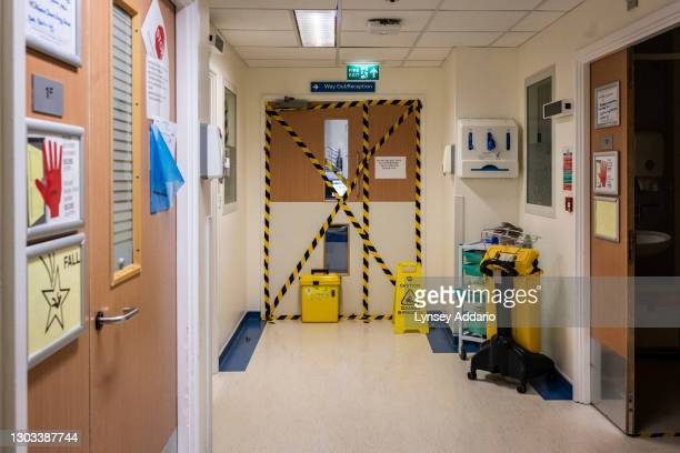Specially designated COVID wards at the University Hospital Coventry on May 25, 2020 in Coventry, United Kingdom. Like many other hospitals across...