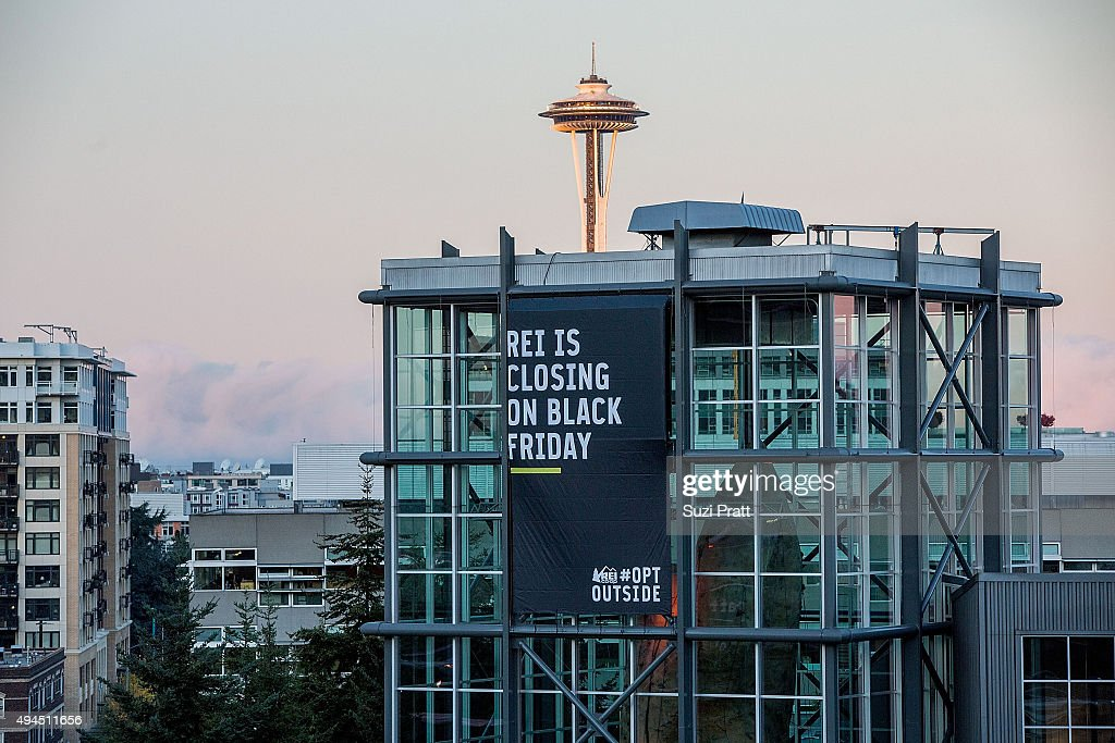 REI Closing Its Doors On Black Friday - Invites Nation To OptOutside : News Photo