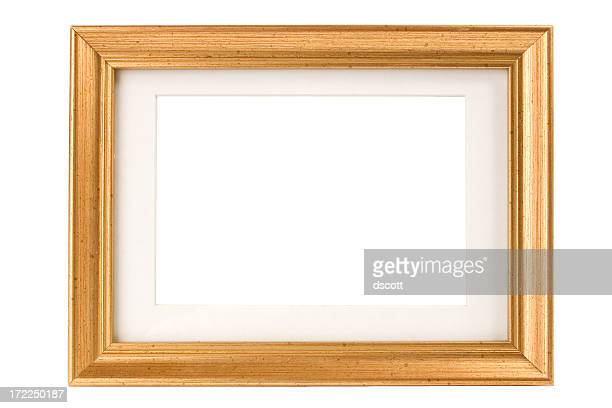 Speckled Gold Picture Frame with Matte