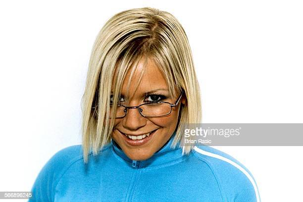 Spectacle Wearer Of The Year Awards' London Britain 26 Oct 2001 Suzanne Shaw Hear'Say
