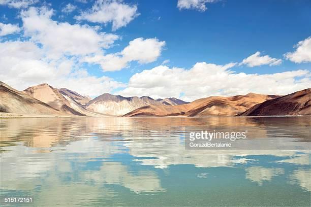 Spectacular Pangong Tso (Pangong Lake) Cloudscape, Ladakh, India