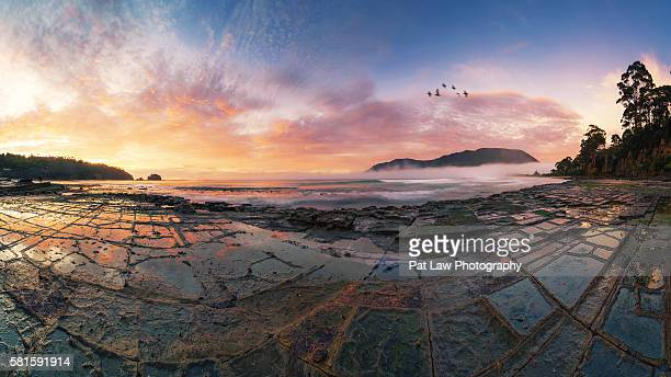 Spectacular Panoramic views of Tessellated Pavement