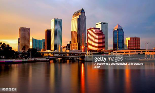 Spectacular View Tampa Bay Skyline