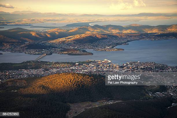 Spectacular Views from Mount Wellington.