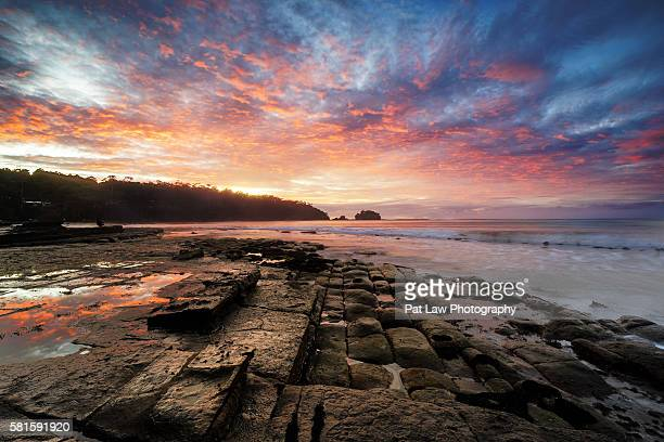 Spectacular views of Tessellated Pavement