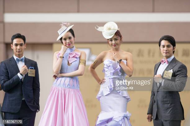 "Spectacular watch and fashion show displaying luxury timepieces was held at Sha Tin Racecourse during the Oriental Watch Sha Tin Trophy ""Gentlemen's..."