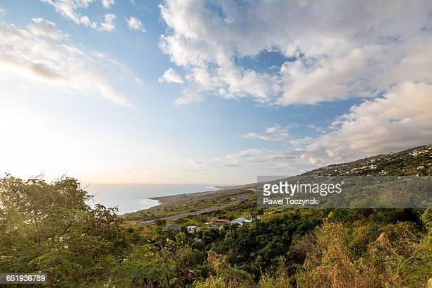 spectacular west coast of la réunion - サンポールドヴァンス ストックフォトと画像