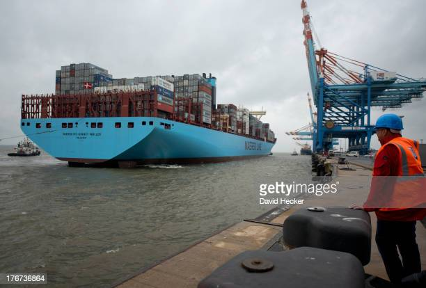 Maersk Mc Kinney Moller Stock Photos And Pictures Getty Images