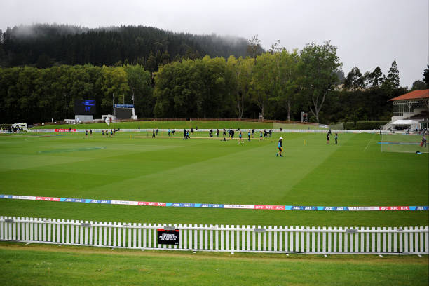 NZL: New Zealand v England - ODI Game 3