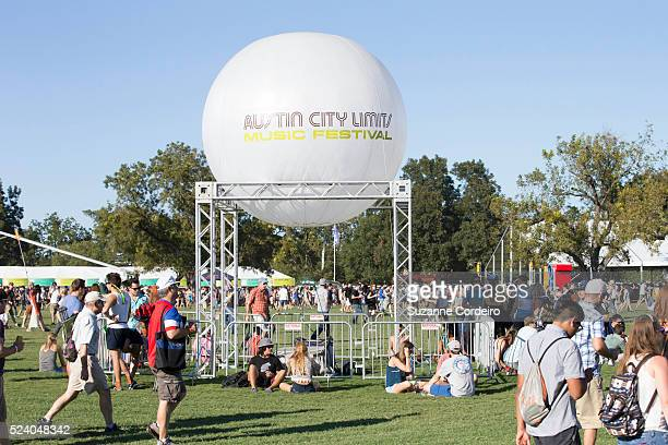 Spectators and fans during weekend one day one of the Austin City Limits Music Festival at Zilker Park on October 3 2014 in Austin Texas