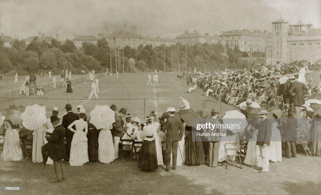 Lawn Tennis : News Photo