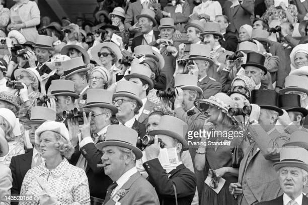 Spectators at Ascot 18th June 1976