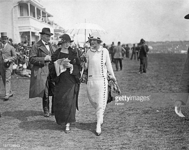 Spectators at Epsom Downs Racecourse for the Derby, Surrey, 6th June 1924.