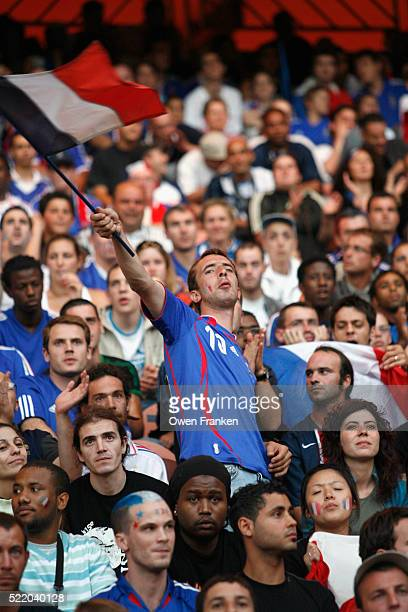 Spectators at World Cup Finals Game