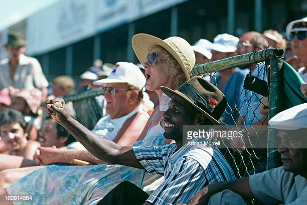 Spectators in Pretoria during a oneday international between the rebel West Indies XI and South Africa February 1983