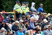 dunedin new zealand spectators look during