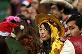 perth australia spectators look during world