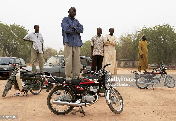 Spectators watch the Argungu Fishing Festival on March 17 2004 in Argungu Nigeria The Argungu Fishing Festival was first held in 1934 Then...