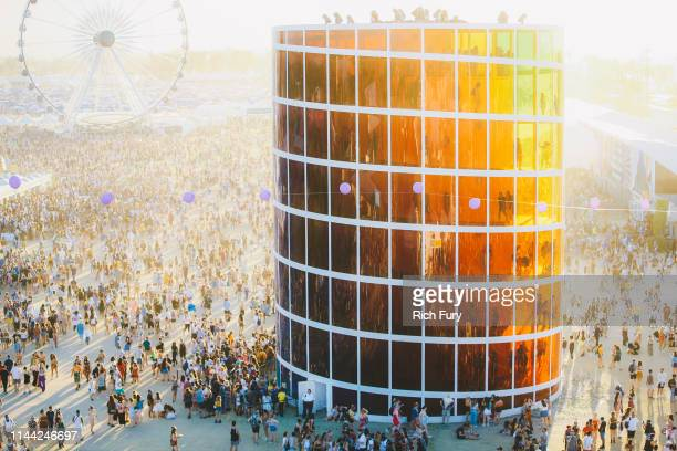 Spectra is seen during the 2019 Coachella Valley Music And Arts Festival on April 21 2019 in Indio California