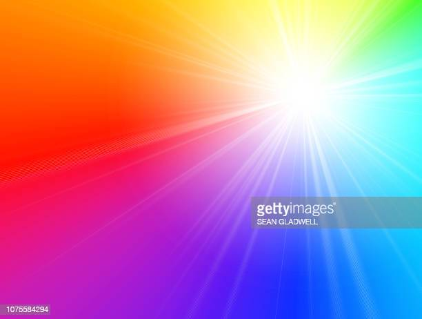 spectrum light background - zoom background stock pictures, royalty-free photos & images