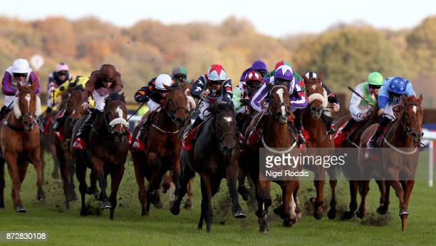 Speculative Bid ridden by Sean Levey wins The Betfred Supports Jack Berry House Handicap Stakes at Doncaster Racecourse on November 11 2017 in...